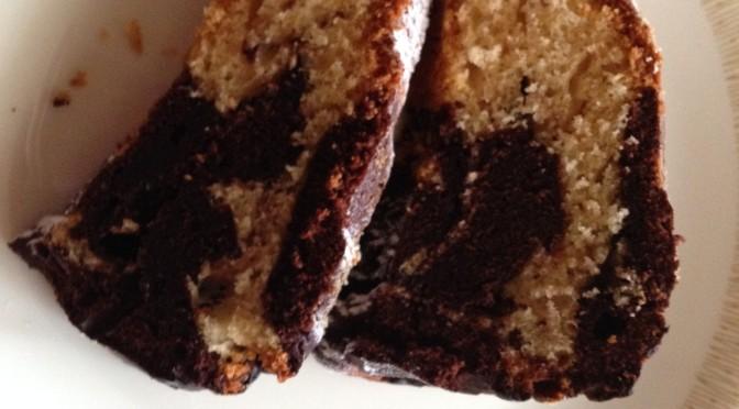 Marmorkuchen (mit Nutella gepimpt)