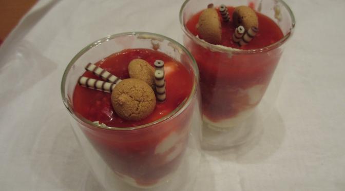Himbeer-Mascarpone-Dessert
